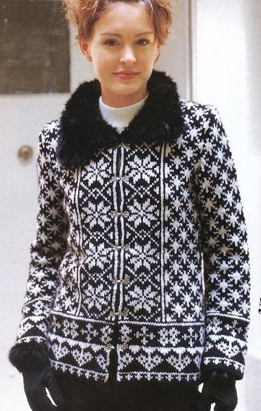 Japanese Let's knit series Aut Wint 2004-2005 (5) (381x600, 123Kb)