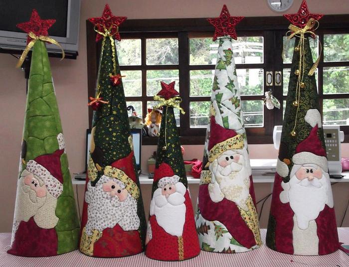 Большие поделки на новогоднюю елку своими руками 62