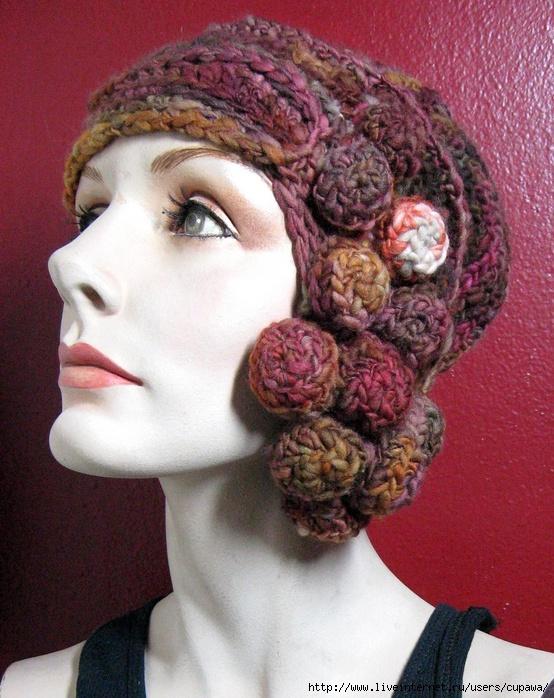 """欣赏: """"有民族风格的帽子"""" - maomao - 我随心动"""