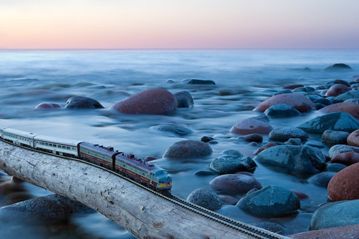 модель поезда канадец фото 11 (700x467, 135Kb)
