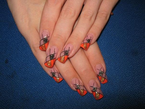 дизайн нарощенных ногтей 2012 лето: