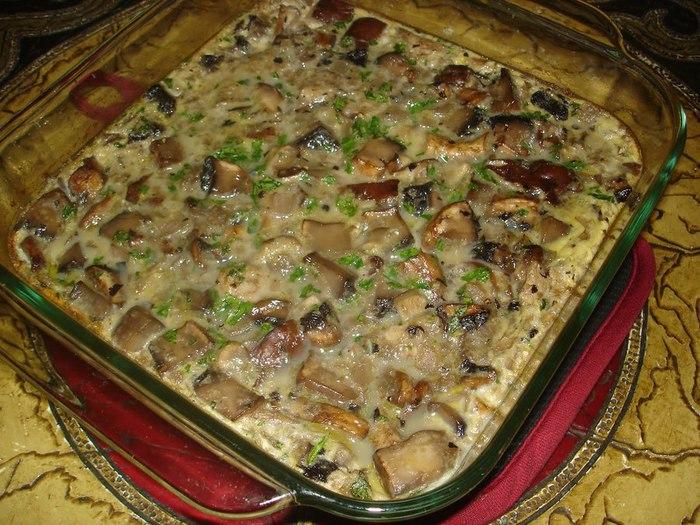 Запеканка с грибами рецепты с фото