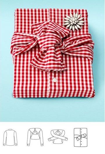 Оригинальная идея по упаковке подарка