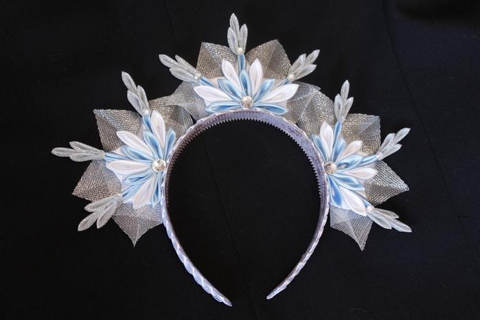 Новогоднее украшение на голову своими руками