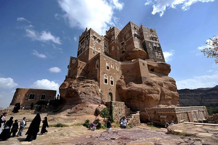 дворец имама йемен фото 4 (700x466, 139Kb)