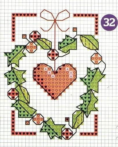 wpid bmluCKR2C6Q Новогодние открытки с вышивкой.