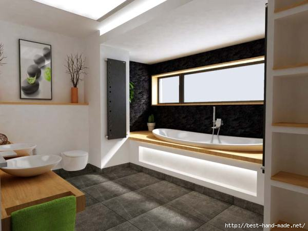 Варианты дизайна ванных комнат фото