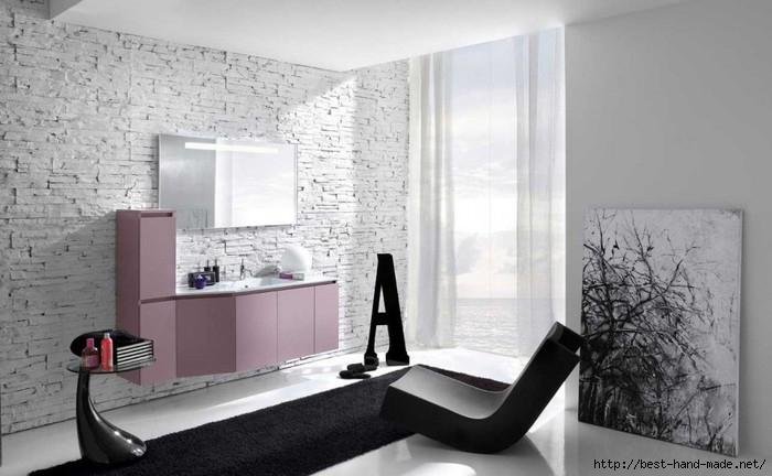 Best-Modern-Worn-Wall-Bathroom-with-Black-Rug-1024x632 (700x432, 146Kb)