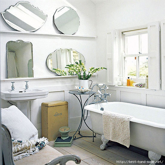 Country bathroom designs