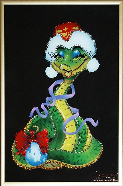 змея-символ 2013 г (431x652, 690Kb)