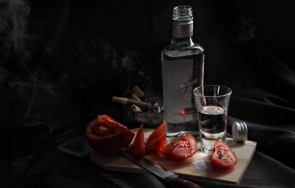Фото выпивки и закуски натюрморт