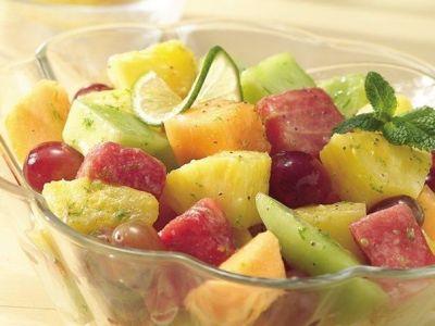 Фруктовый салат с лаймом и медом (400x300, 21Kb)