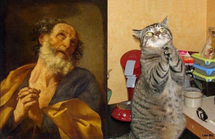 Гвидо Рени, «Раскаяние Святого Петра» (1635) (700x454, 67Kb)