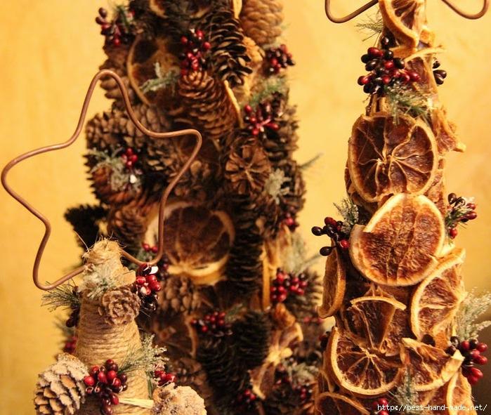 Новогодний топиарий своими руками мастер класс елка