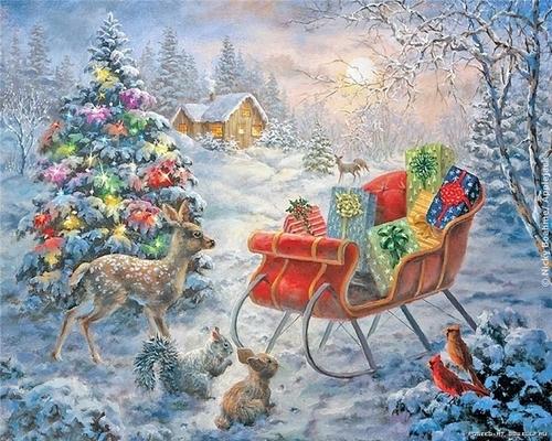 рождественская сказка (500x400, 232Kb)