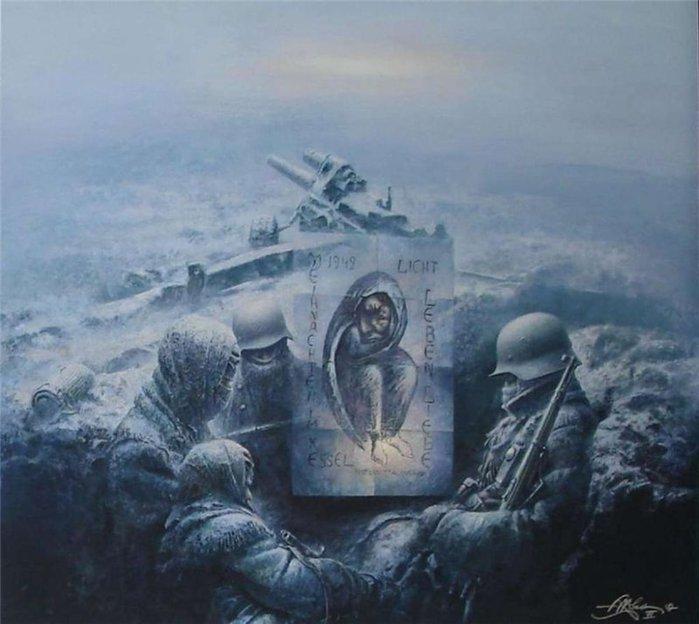 «Сталинградская Мадонна» и немцы в Сталинградском котле