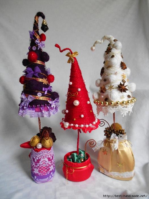 Елка новогодняя сувенир своими руками