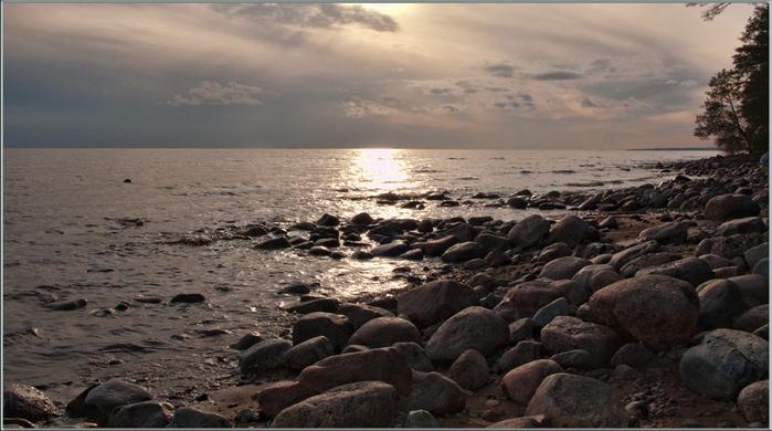 Вечер на заливе (700x390, 274Kb)