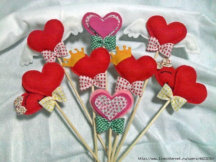 Поделки на день святого валентина своими руками из всего