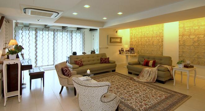 Обновленный дом в Сингапуре от KNQ Associates