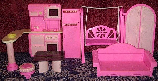 Как сделать своими руками мебель для барби из картона