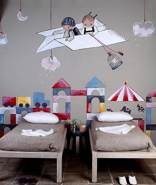 Простые идеи декора комнаты