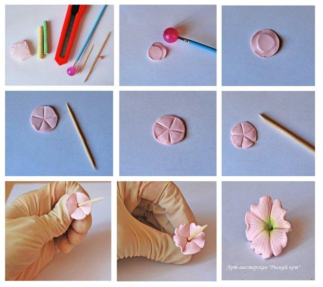 Из запекаемой полимерной глины своими руками