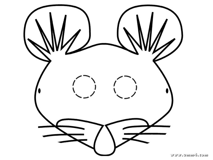 Маски раскраски: Кошка и мышка Развитие детей. Онлайн игры. Сказки. Раскраски. Алфавит. Карточки. Математика. Здоровье