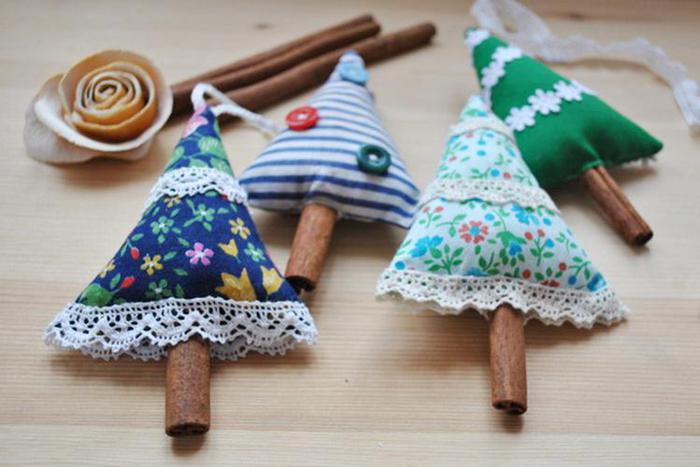 Как сделать ароматные ёлочки-палочки