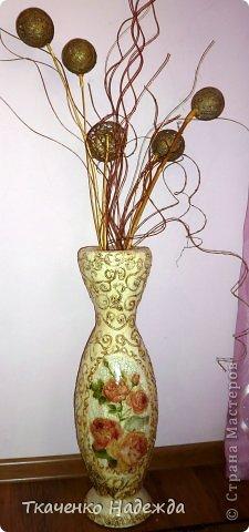 Украшения для напольных ваз своими руками