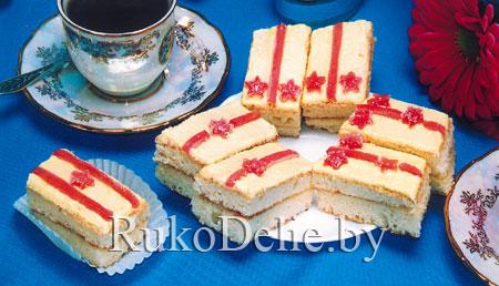 ДЛЯ ЛЮБИМЫХ МУЖЧИН Бисквитное пирожное Господа офицеры