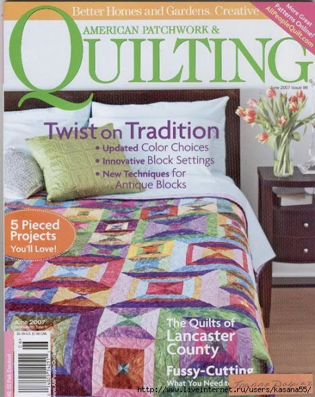 American Patchwork & Quilting n86 (457x576, 229Kb)