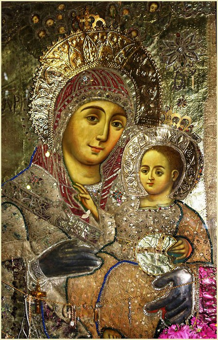 Вышивка бисером иконы вифлеемская икона божьей матери