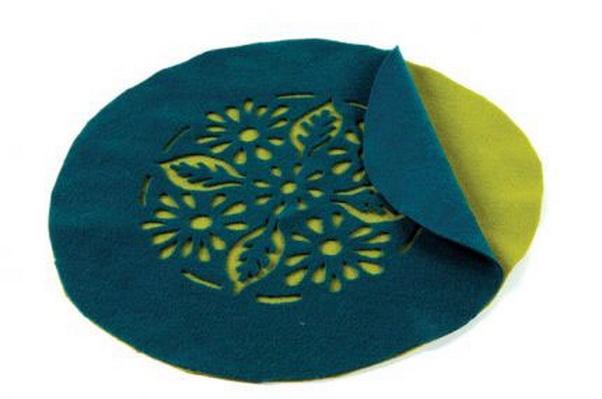 выкройка берета из ткани клиньями