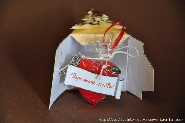 Подарок из бумаги торт 83