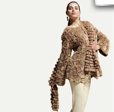 Вязание мехом.