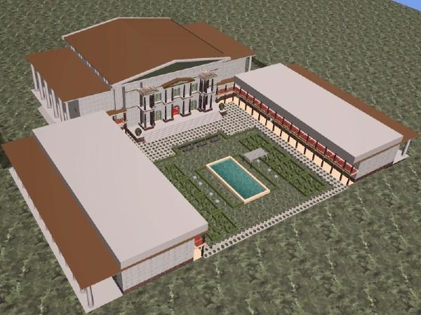 План  Александрійської бібліотеки