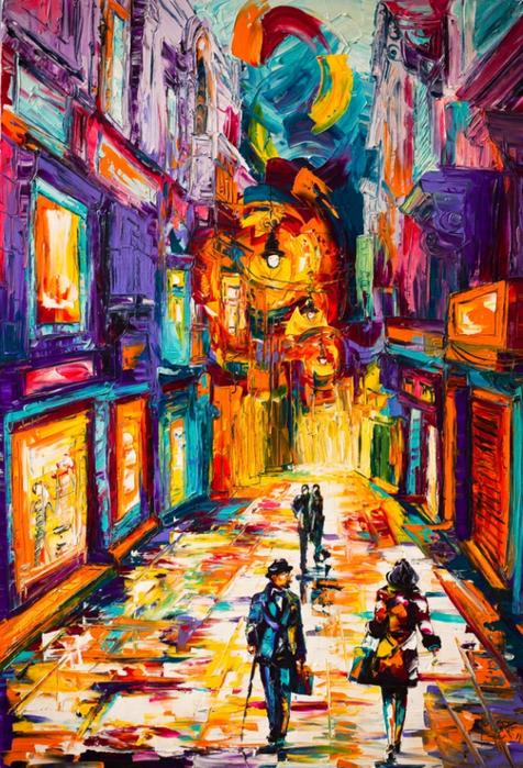 Micko-Vic современный арт картины (476x700, 577Kb)