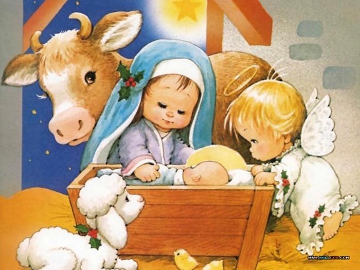 Робин гРисунки рождество христово своими руками