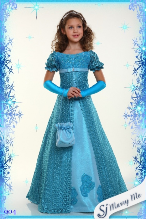 Детские нарядные платья для девочек на 7  11 лет