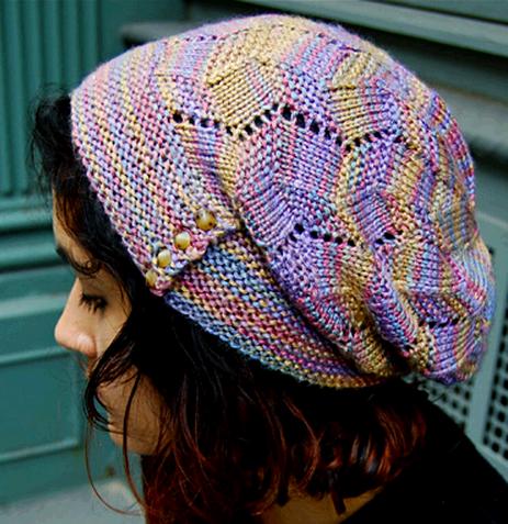 Женская ажурная вязаная спицами шапочка и митенки/4683827_20121120_123158 (463x477, 274Kb)