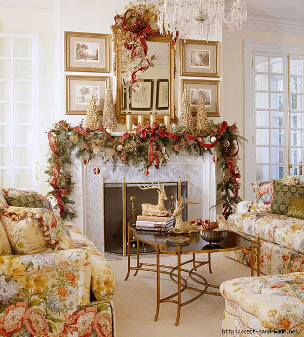 Fireplace-Christmas-decor (600x667, 337Kb)