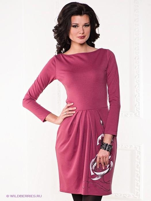 Красивые платья для офиса 10
