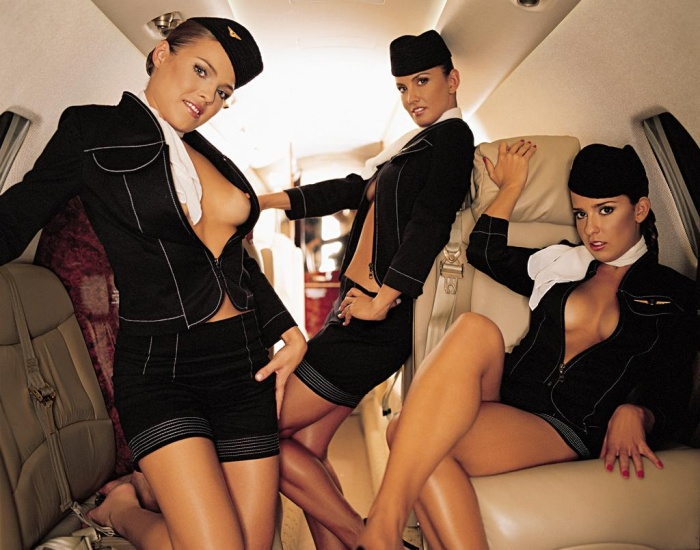 Голые секси фото девушек в форме стюардес 52500 фотография