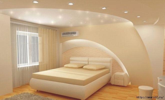 Как сделать потолок из гипсокартона фигурный видео инструкция - d9255