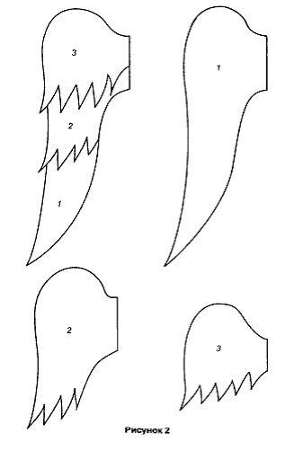 Выкройка крыльев ангела - Выкройки одежды