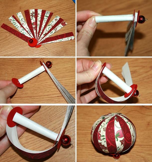Как сделать бумажные шарики своими руками