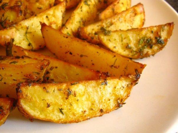 Как в духовке сделать картофельные чипсы в
