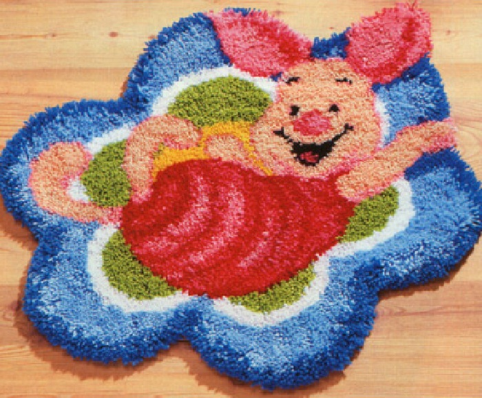 Вязание ковровой иглой