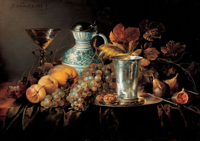 4000579_Fruit_StillLife_with_a_Silver_Beaker (700x495, 58Kb)